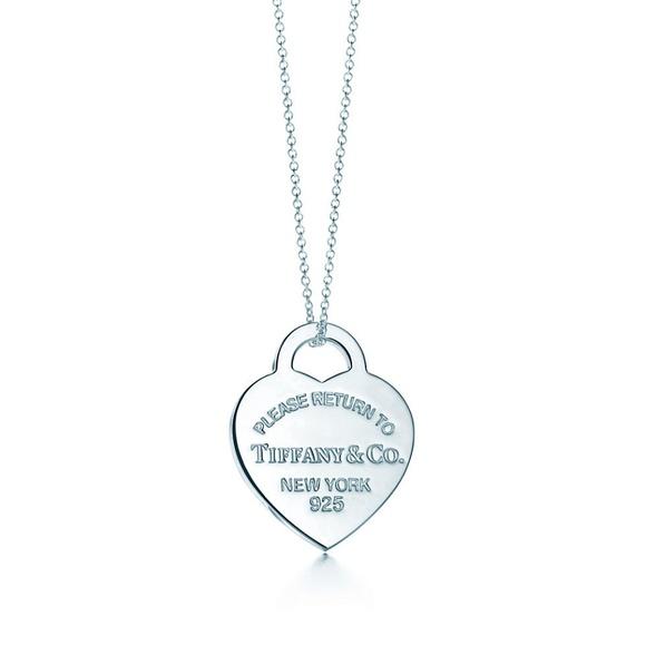 Tiffany & Co. Jewelry - Tiffany & Co. heart necklace.